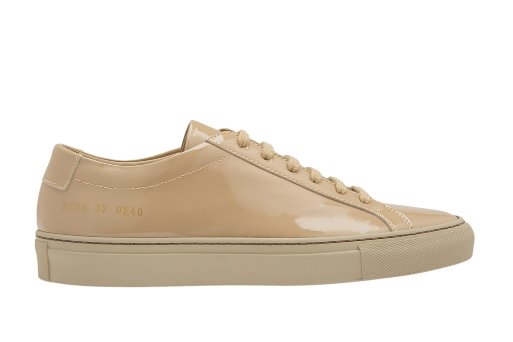 Common Projects Achilles Low Patent Leather
