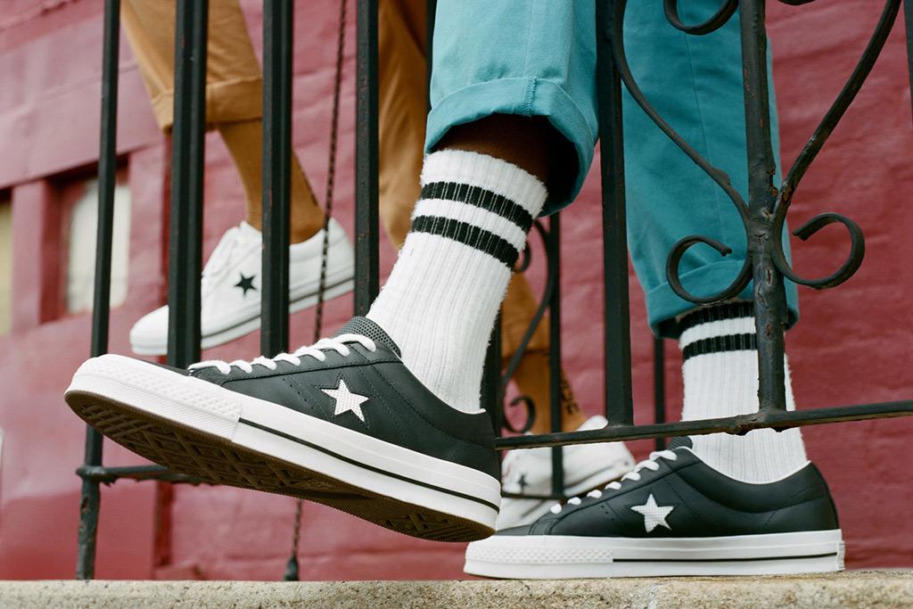 converse one star street style