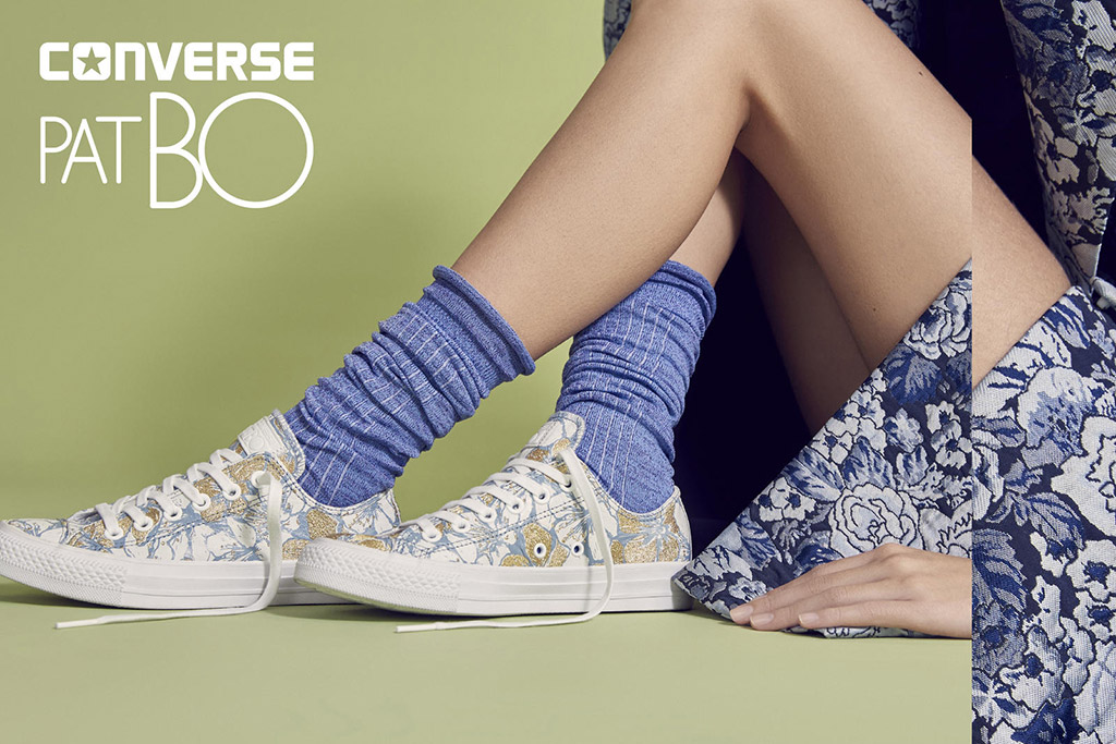 Converse and patbo collaboration on limited edition chuck taylor all star converse in white color choice