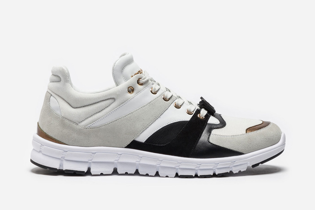 Dolce & Gabbana Mixed Material Sneakers
