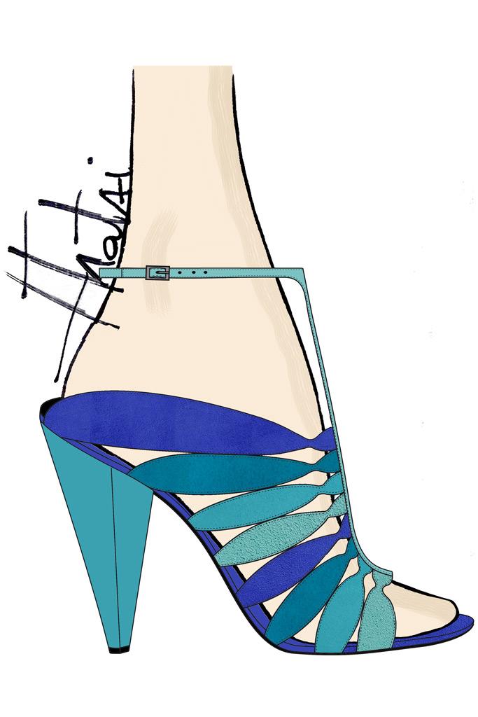 shoe, Luisa Tratzi, emerging talent