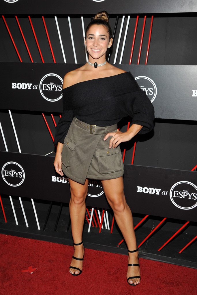 ESPYs, Body at ESPYs, Aly Raisman
