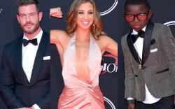 espy awards, celebrities, 2017, red carpet,