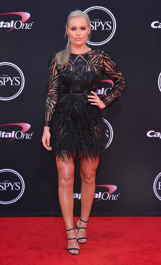 2017, ESPY Awards, Red Carpet, Celebrity Style, fashion, espys, Lindsey Vonn