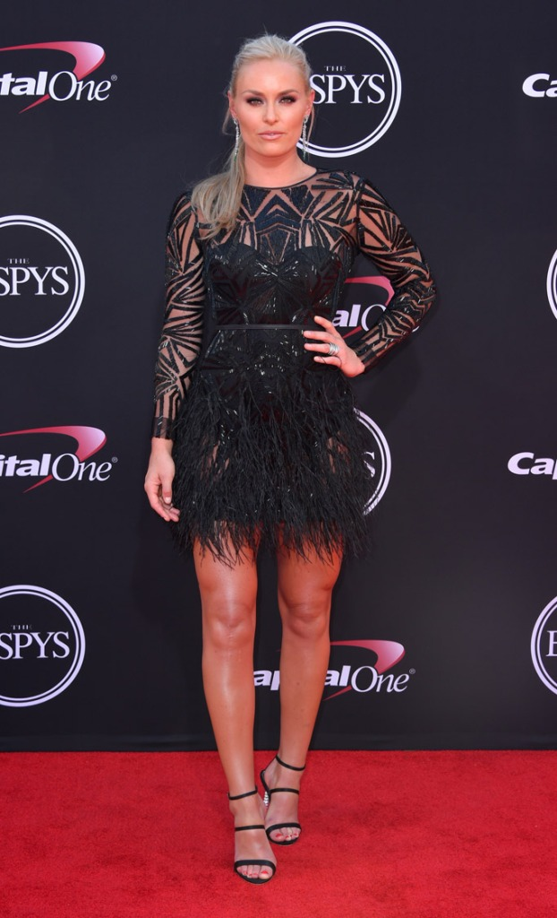 2017, ESPY Awards, Red Carpet, Celebrity Style, fashion, espys, Lindsey Vonn