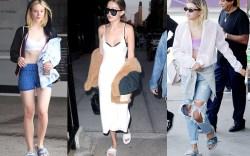 Celebrities' Go-To Shoes: Fenty Puma Fur Slides