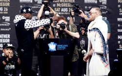 Floyd Mayweather Conor McGregor New York