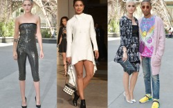 celebrities paris couture week