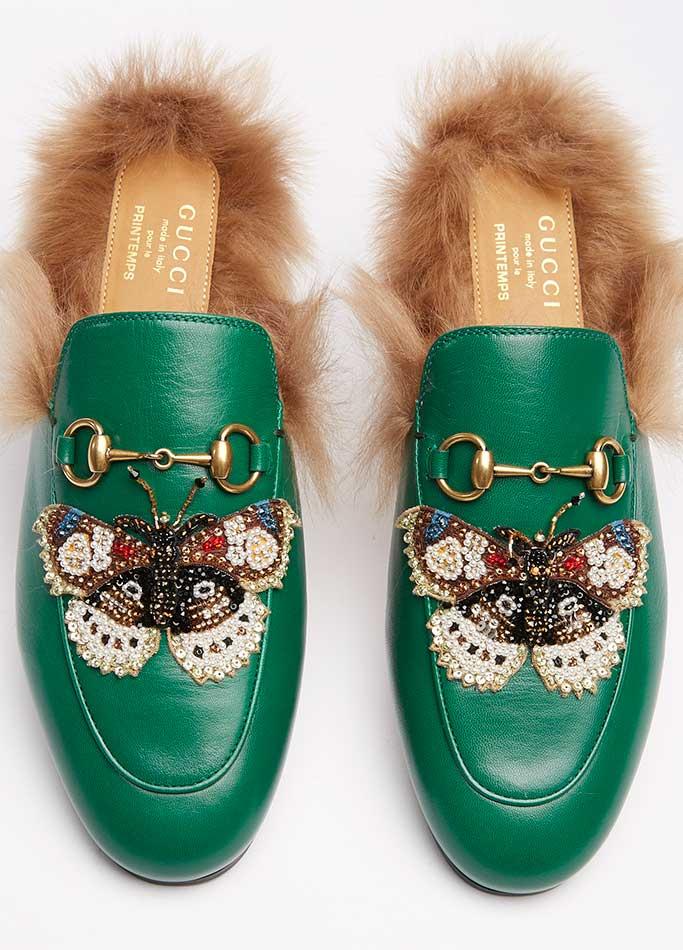 Gucci exclusive at Printemps.
