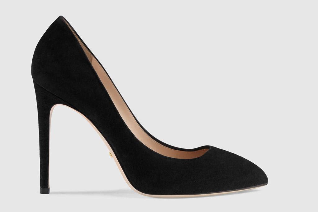 Gucci, heels, bow