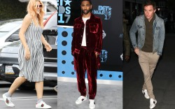 Celebrities' Go-To Shoes: Gucci Sneakers