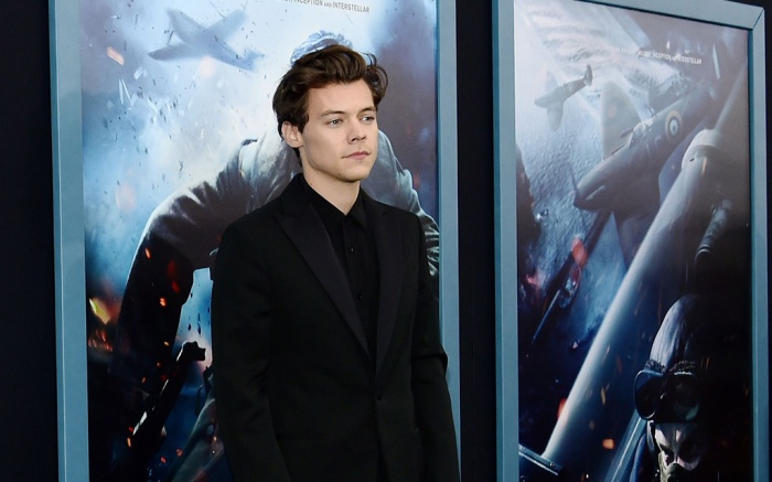 """Harry Styles at the """"Dunkirk"""" premiere in NYC."""