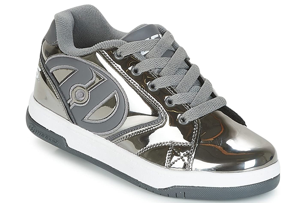 Heelys, wheeled sneakers