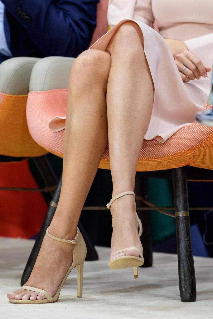 ivanka trump, Roksanda, stuart weitzman, sandals, feel, germany, g20, nude, pink, dress, shoes