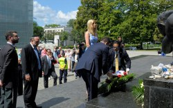 Ivanka Trump in Poland