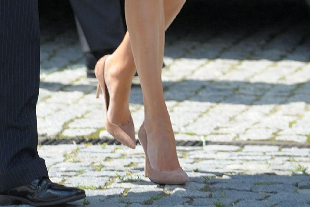 Ivanka Trump, shoes, heels, Poland