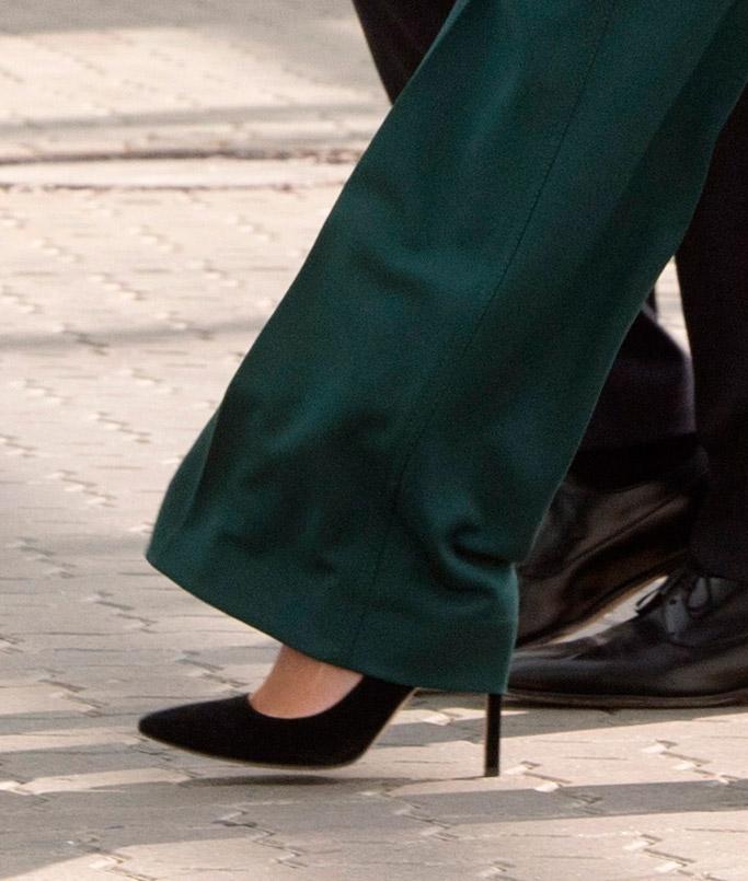 ivanka trump, germany, g20, jared kushner, shoes, fashion, style, Gabriela Hearst, carra pumps