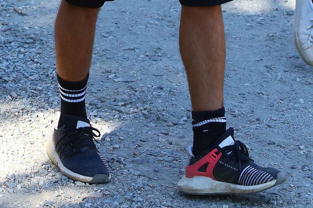 justin bieber hiking adidas