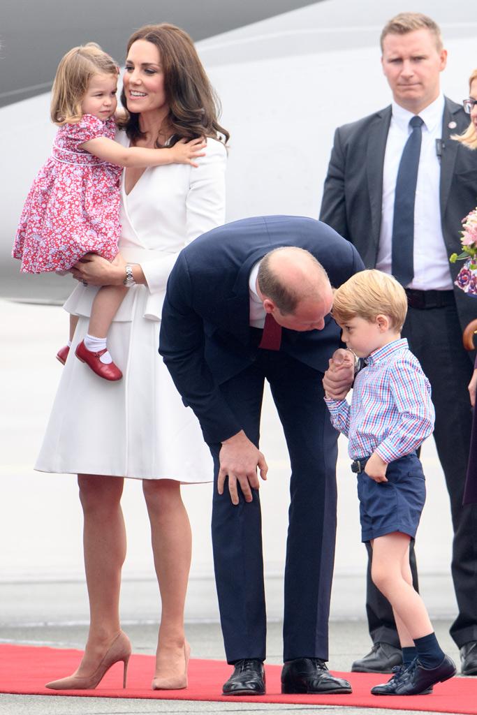 kate middleton style poland royals european trip