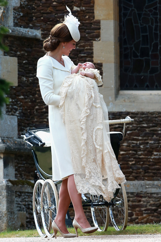 Princess Charlotte, Kate Middleton