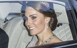 kate middleton style state banquet