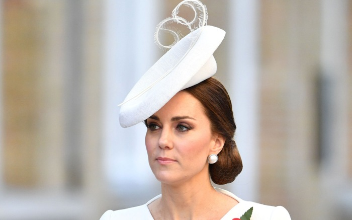 Kate Middleton in White Outfit