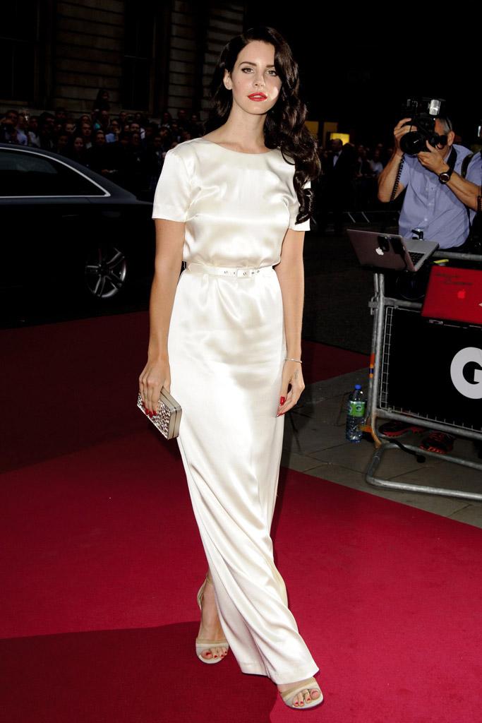 Lana Del Rey, sandals