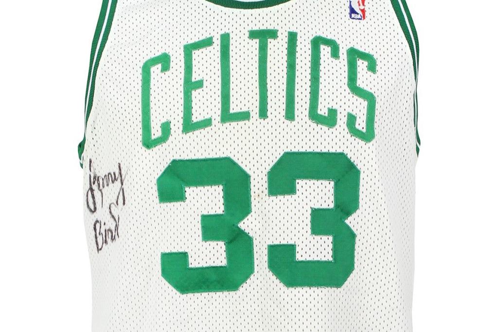 Larry Bird Boston Celtics Jersey Signed