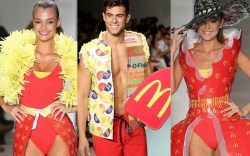 mcdonald's, mcdonalds, mcdcouture, miami swim week,