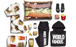 mcdelivery, mcdonalds clothing line, sandals, slides,