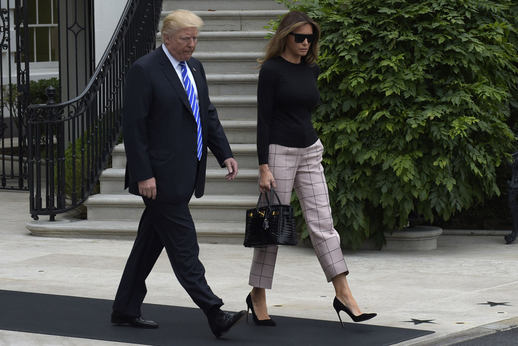 Melania, Donald Trump, Europe