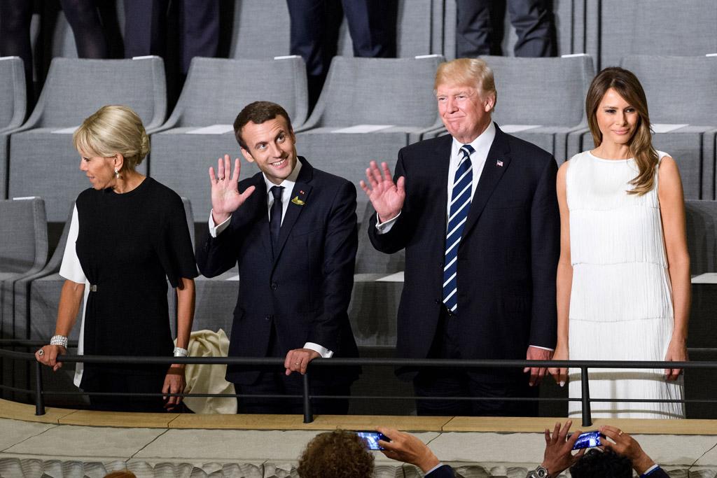 Brigitte Trogneux, Brigitte macron, melania trump, donald trump, g20 summit