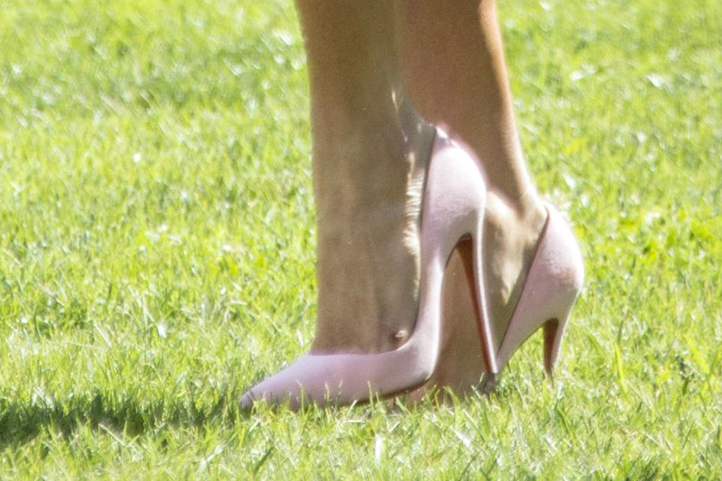 Melania Trump, Christian Louboutin, Ohio