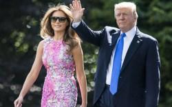 Melania Trump, Donald Trump, campaign