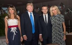 Melania Trump in France: Style