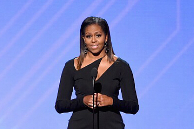 michelle obama style espys dress shoes