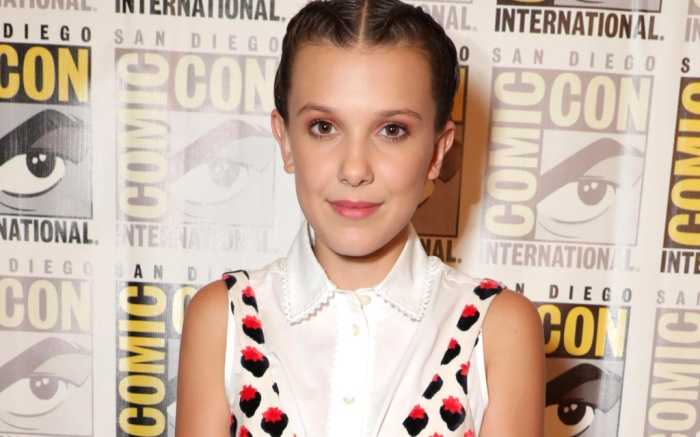 millie bobby brown comic con