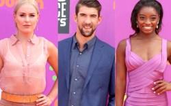 Lindsey Vonn, Michael Phelps, Simone Billes,
