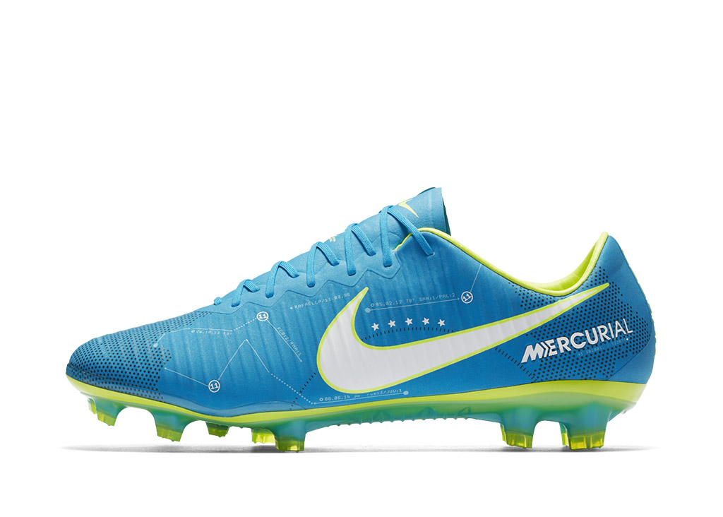 "The ""Written in the Stars"" Nike Mercurial Vapor features a Southern Cross constellation graphic."