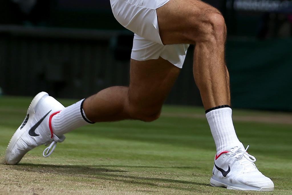 Shoe for Wimbledon Winner Roger Federer