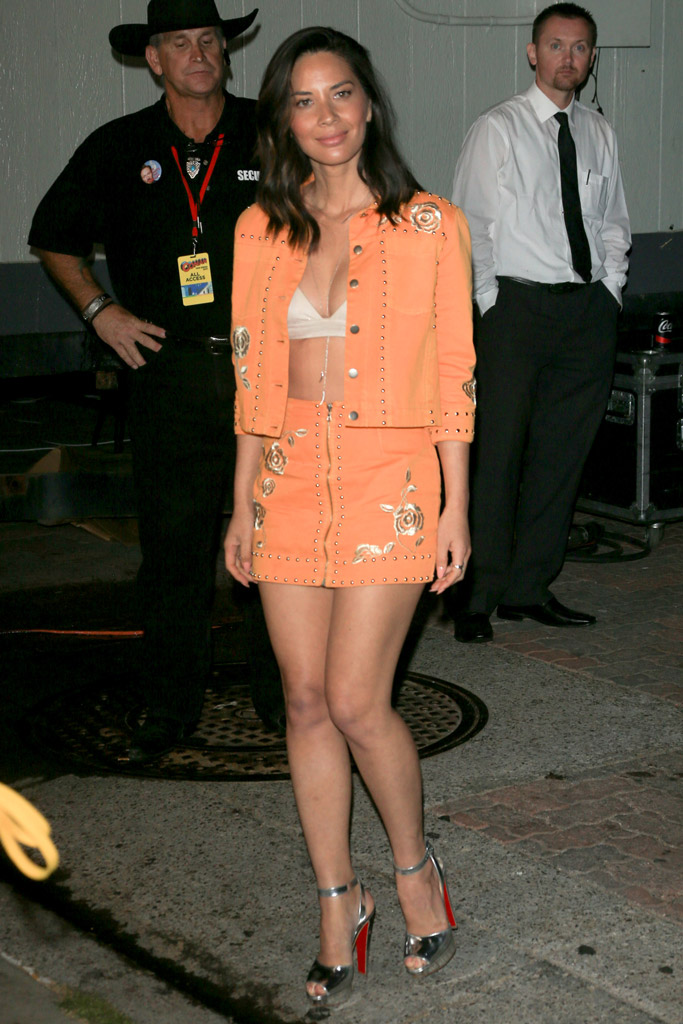 Olivia Munn, Comic Con,