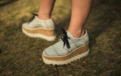 Pitchfork Festival Shoes