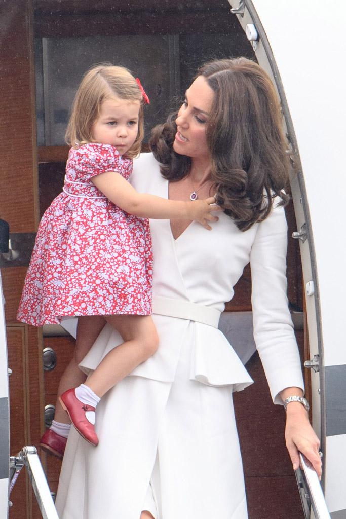 Prince Harry, Princess Charlotte, Kate Middleton