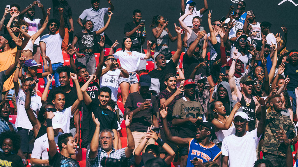 Fans cheered on players over the course of the weekend festivities at the World Streetball Championship.