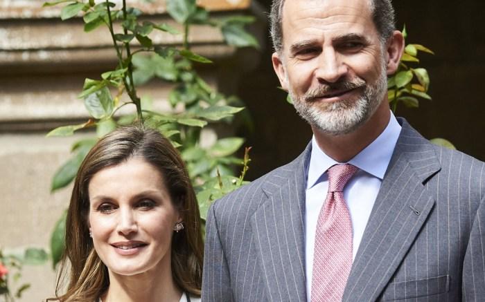 Queen Letizia, King Felipe