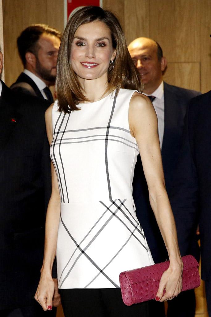 Queen Letizia, Hugo Boss