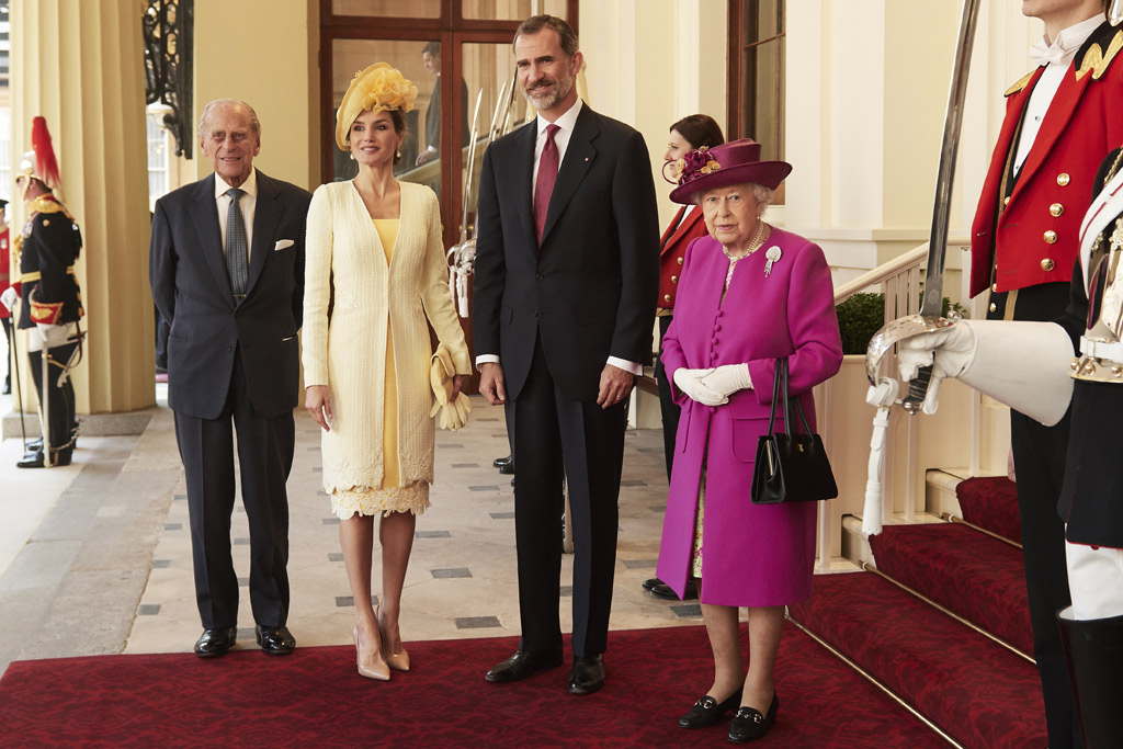 queen letizia of spain style uk trip