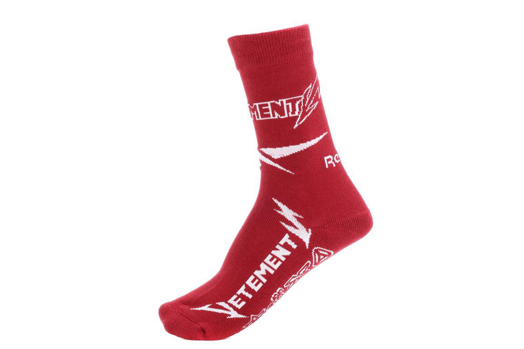 Justin Bieber, socks, Reebok, Vetements