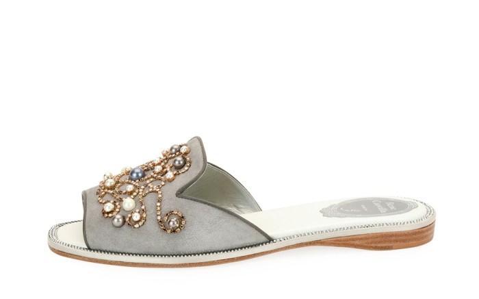 Rene Caovilla shoes slide