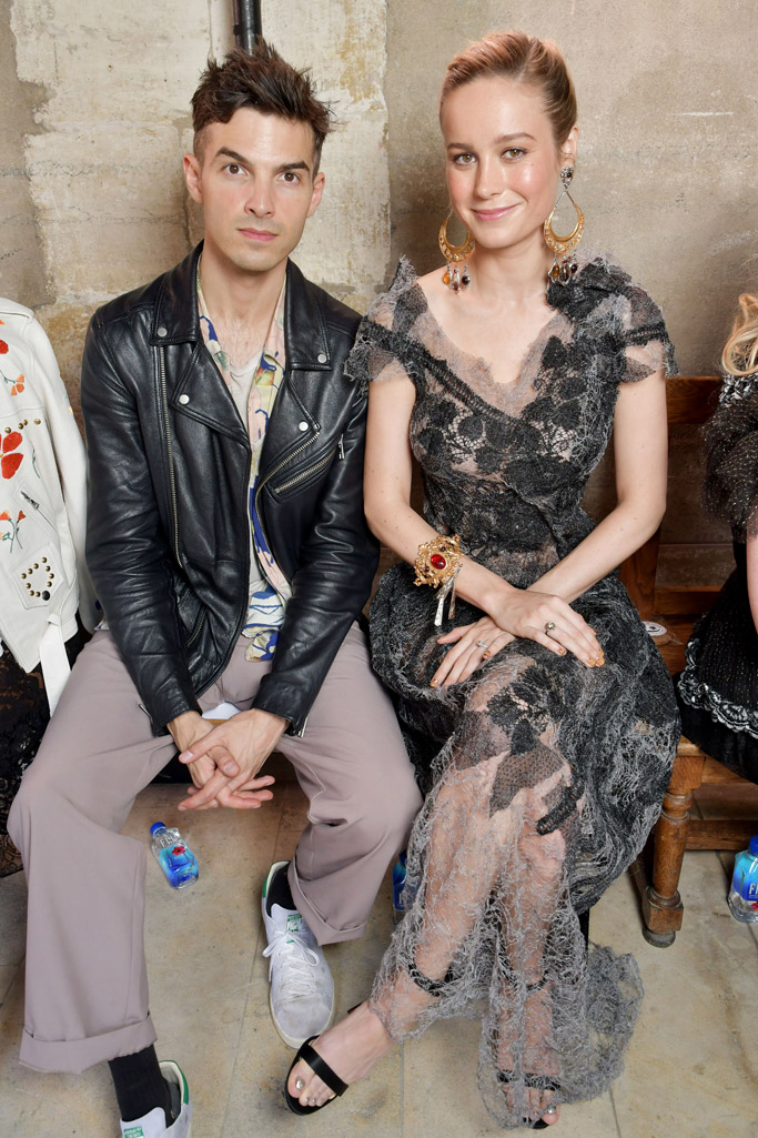 Alex Greenwald, gianvito rossi, rodarte, Paris Haute Couture Fashion Week, kirsten dunst, brie larson